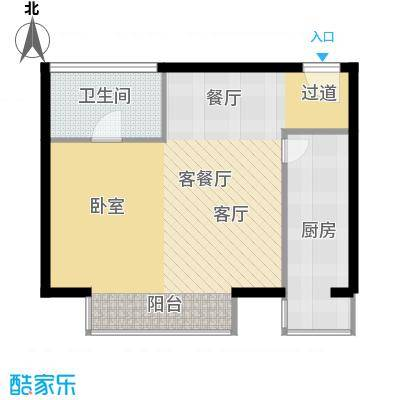 悠唐・麒麟公馆70.71㎡8#1座04户型10室