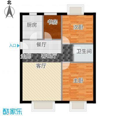 北京城建・筑华年91.00㎡1号楼D-5户型10室