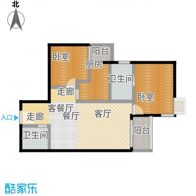 北苑家园中心区(锦城)96.80㎡户型10室