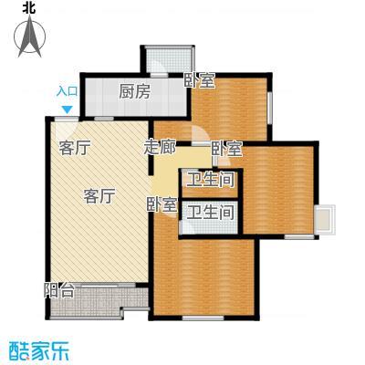 北苑家园中心区(锦城)139.69㎡户型10室