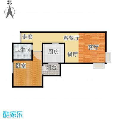 北苑家园中心区(锦城)66.47㎡户型10室