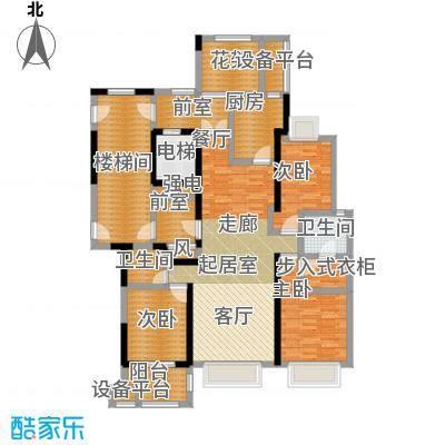 中豪东湖一品户型3室2卫1厨