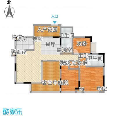 华菱・香墅美地(一期)123.08㎡B3户型
