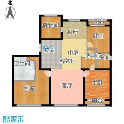 力宝广场・诗礼庭175.00㎡D1户型10室