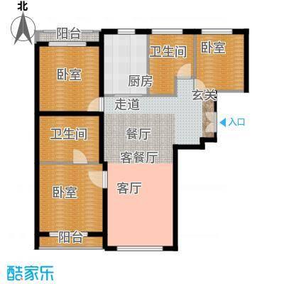 力宝广场・诗礼庭140.00㎡C1户型10室