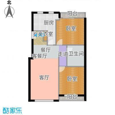力宝广场・诗礼庭110.00㎡B1户型10室