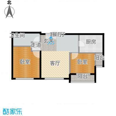 力宝广场・诗礼庭88.00㎡A户型10室