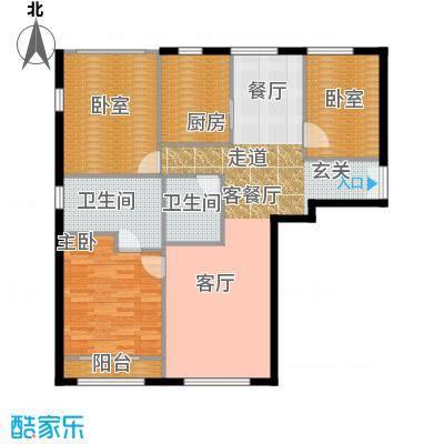 力宝广场・诗礼庭140.00㎡C2户型10室