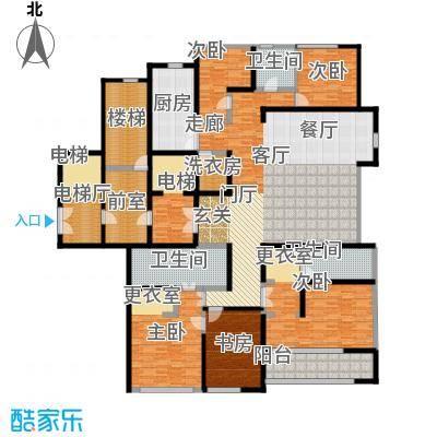 绿城北京诚园276.00㎡B1户型4室2厅3卫