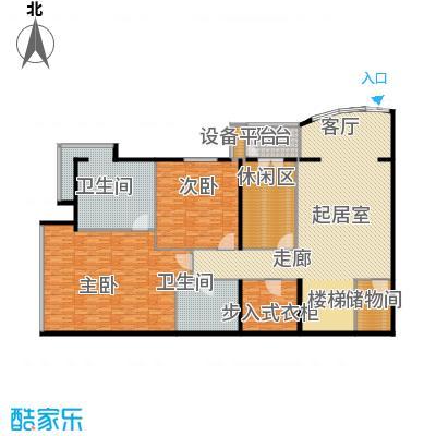 PARK北京276.00㎡XA1首层户型2室2卫
