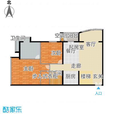 PARK北京276.00㎡XA1二层户型2室2卫