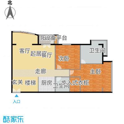 PARK北京351.00㎡XA二层户型2室2卫
