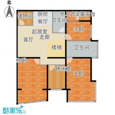 PARK北京320.00㎡XC首层户型3室2卫
