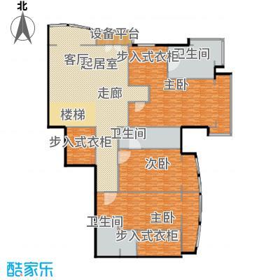 PARK北京512.00㎡SD二层户型3室3卫