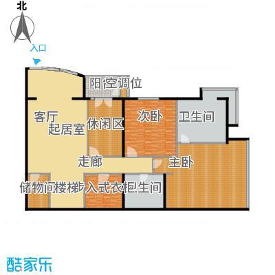 PARK北京351.00㎡XA首层户型2室2卫