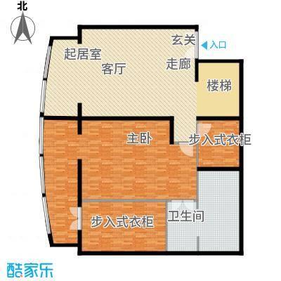 PARK北京219.00㎡XB1二层户型1室1卫