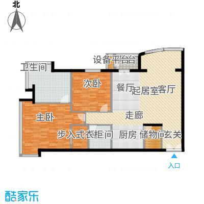 PARK北京138.00㎡A1户型2室2卫