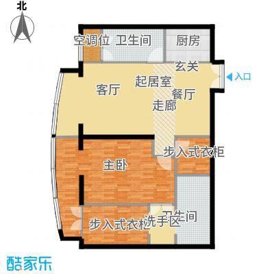 PARK北京126.00㎡B1户型1室2卫