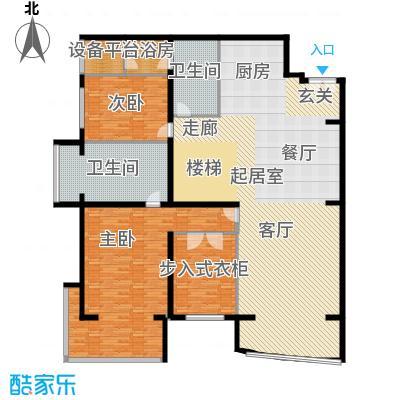 PARK北京244.00㎡XC1二层户型2室2卫