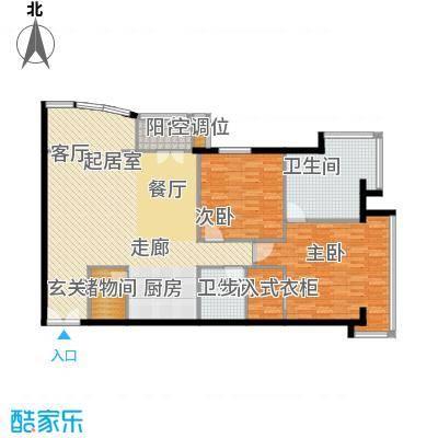 PARK北京138.00㎡A户型2室2卫