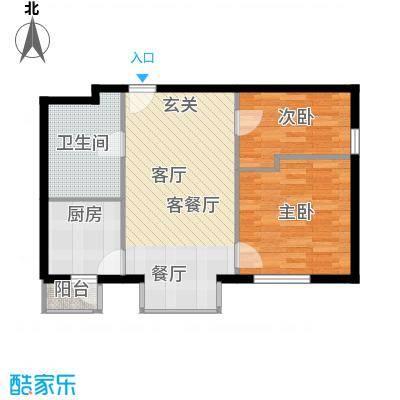 悠唐・麒麟公馆85.80㎡8#2座03户型10室