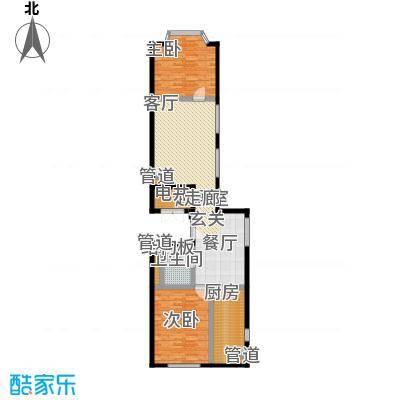 蓝堡国际公寓100.01㎡C03户型