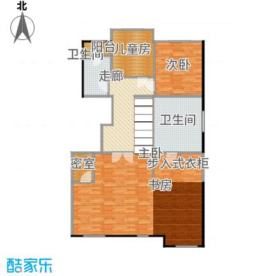 鸿坤・林语墅135.69㎡叠拼A1F面图户型10室