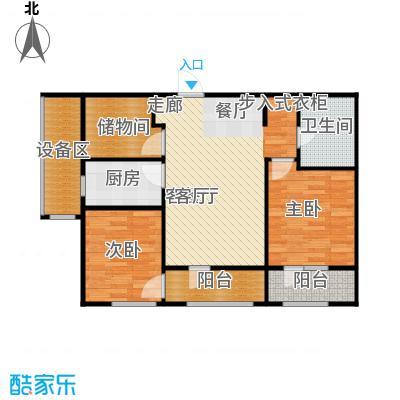 """枫丹壹㎡95㎡""""2+1""""户型"""