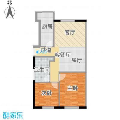 悠唐・麒麟公馆94.80㎡8#1座05户型10室
