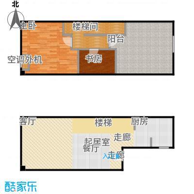 SOHO现代城复式结构户型