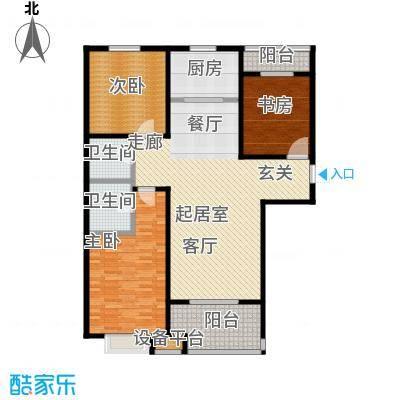 嘉华国际138.53㎡嘉华国际138.53㎡3室2厅2卫户型3室2厅2卫