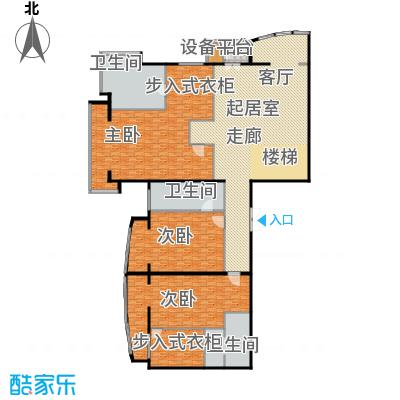 PARK北京496.00㎡SD1二层户型3室3卫