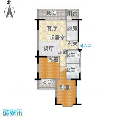 德胜嘉苑95.88㎡A户型10室