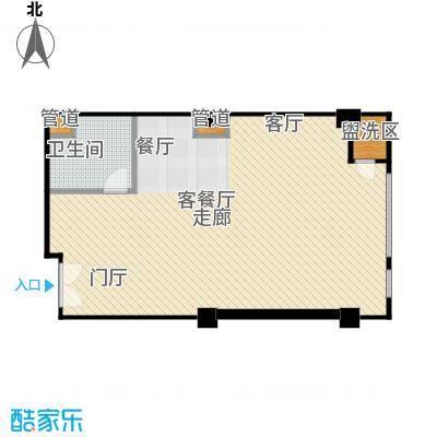 雍和家园89.42㎡A17户型