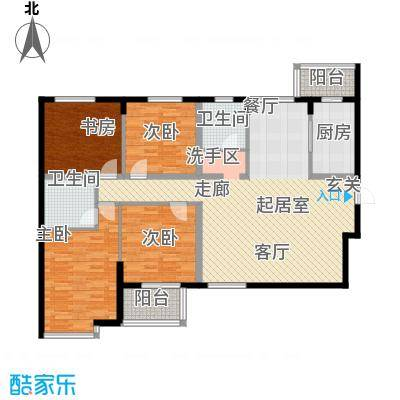 融富中心140.81㎡融富中心140.81㎡3室2厅2卫户型3室2厅2卫