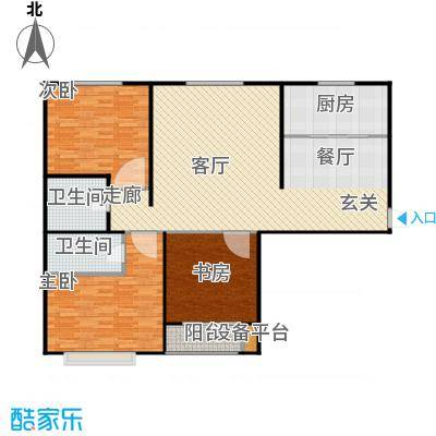 颐景蓝湾129.57㎡颐景蓝湾129.57㎡户型10室