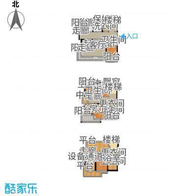 Peking House首府别墅504.68㎡A上户型【气度】户型