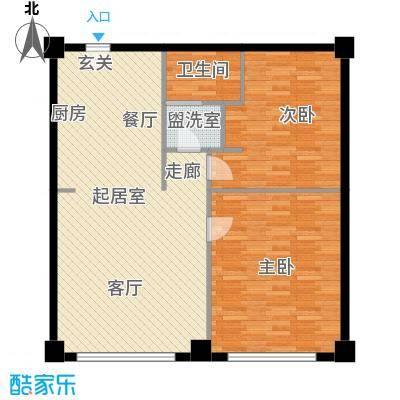 旺角花园94.87㎡旺角花园94.87㎡户型10室