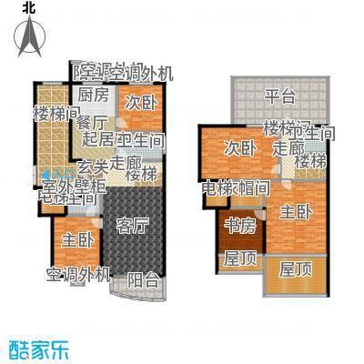 安馨园229.82㎡4室2厅3卫户型