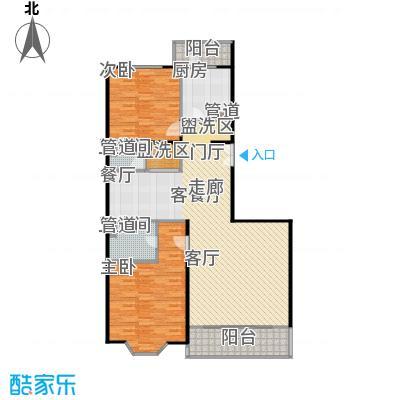 京香福苑125.57㎡C户型