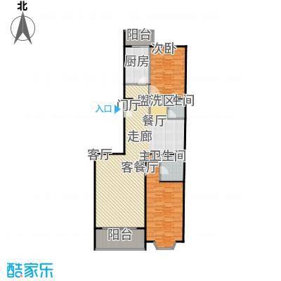 京香福苑123.17㎡C户型