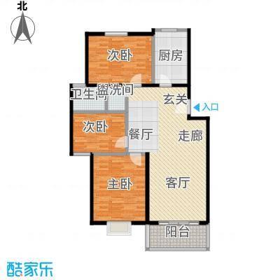 锦绣中华105.92㎡锦绣中华105.92㎡户型10室LL