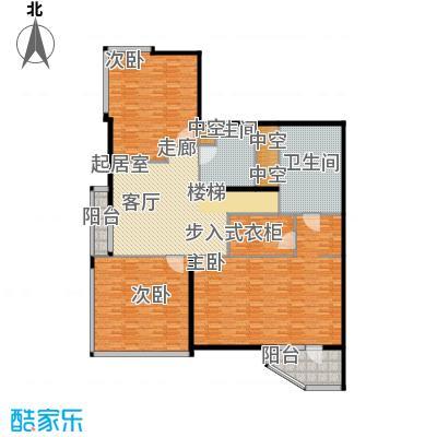 元嘉国际公寓(钛度)229.74㎡跃居三层之两层户型