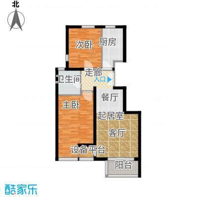 中铁置业・翰庭91.00㎡B1户型10室