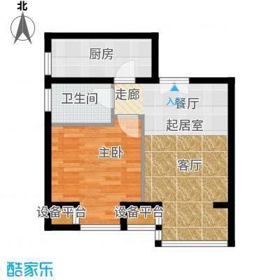 中铁置业・翰庭51.36㎡A4户型10室
