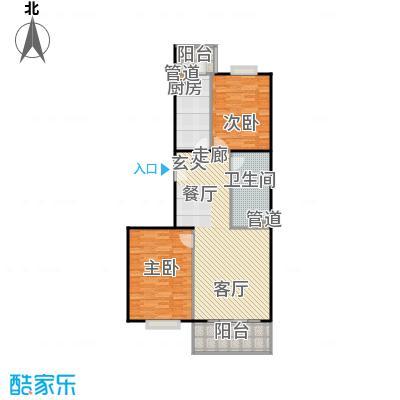 阳春光华家园103.00㎡二室二厅户型
