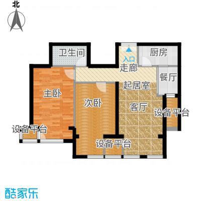 中铁置业・翰庭85.05㎡B2户型10室