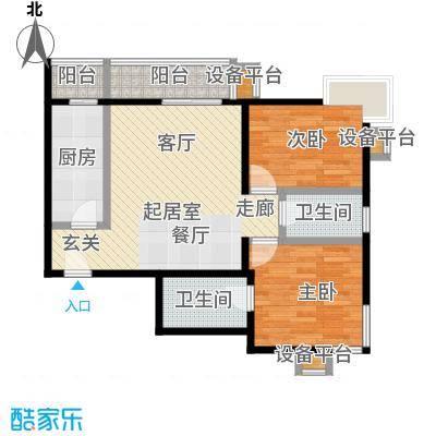 梵谷水郡(ZAMA三期)D区4号楼A户型