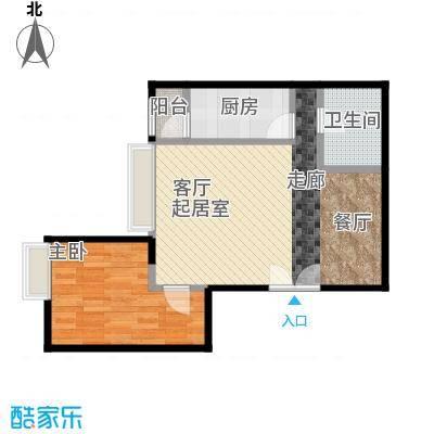 宝星・华庭56.66㎡9#A户标准层户型10室
