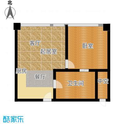 大悦公寓88.30㎡N02户型10室
